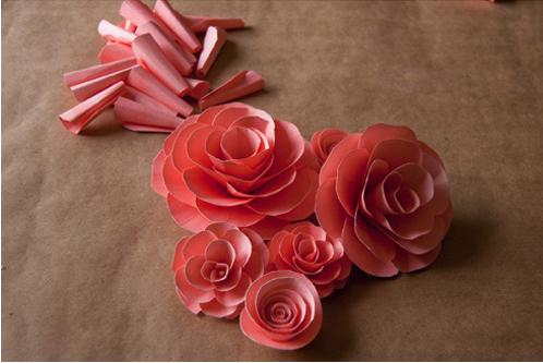 Paper flower tutorials how do it info paper flower tutorials mightylinksfo