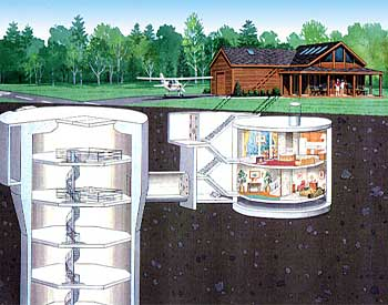 Underground shipping container homes how do it info for Household shelter design