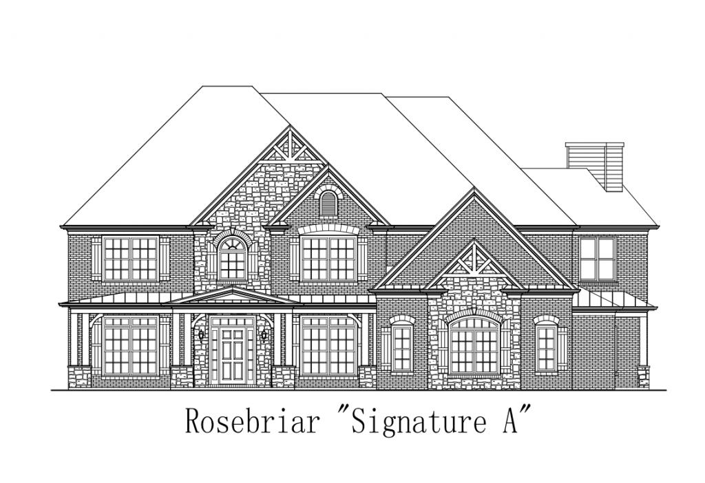 The Rosebriar floor plan