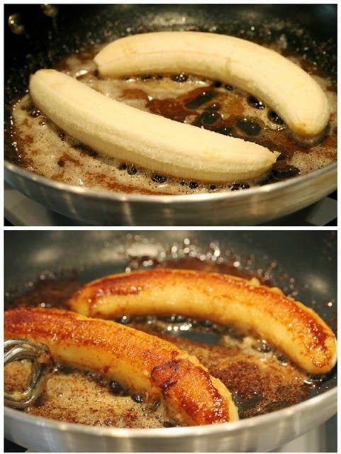 Delicious Spatula: Brown Butter Banana Dessert