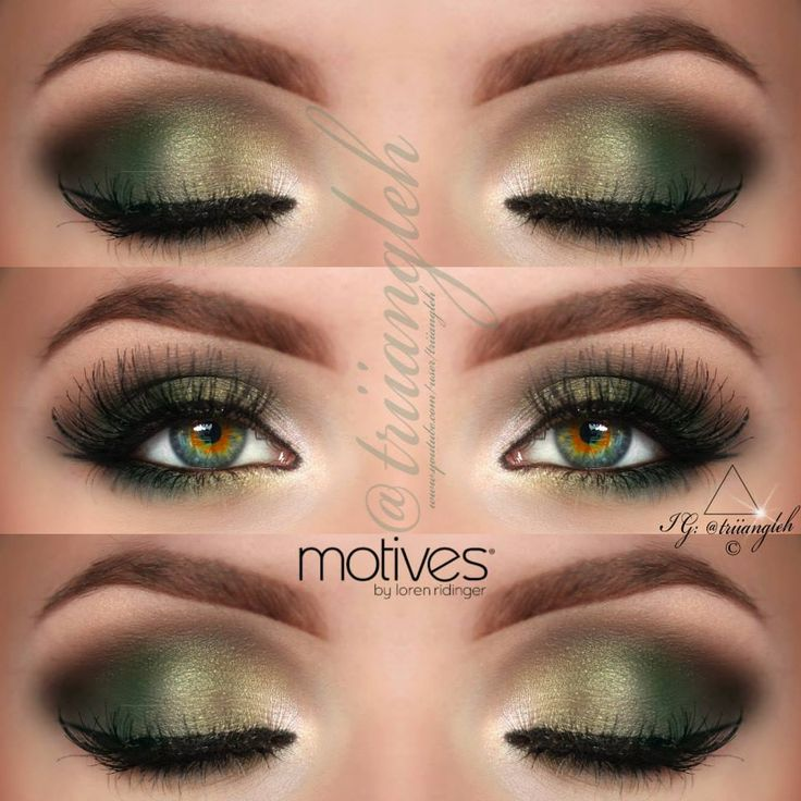 Make Up For Green Eyes How Do It Info