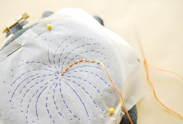 Running Stitch | 11 Different Types of Hand Embroidery Stitches