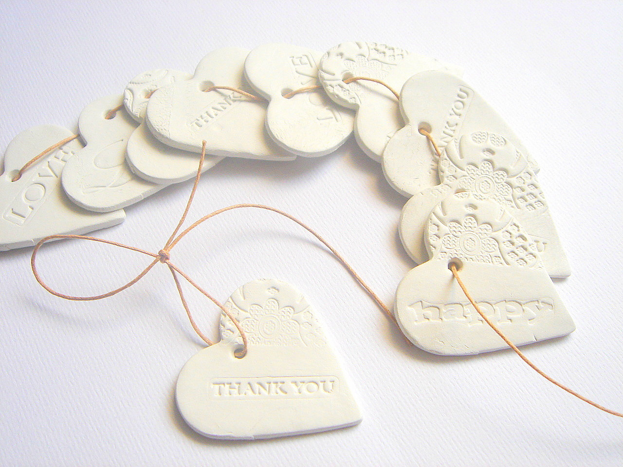 Ceramic gift tags Ideas | How Do It Info