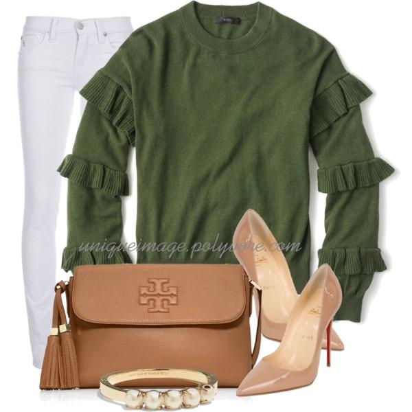 Green & Tan