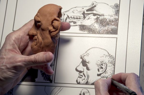 The making of Ragemoor by Richard Corben