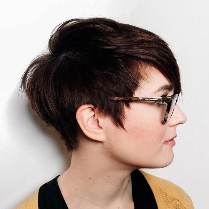 Edgy pixie, Pixie cuts and Haircuts -   Very short haircuts for women with round faces