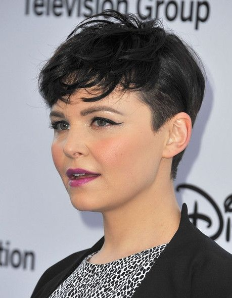 Really Short Hairstyles for Round Faces -   Very short haircuts for women with round faces