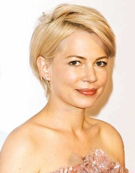 30 Best Short Hairstyles for Round Faces -   Very short haircuts for women with round faces