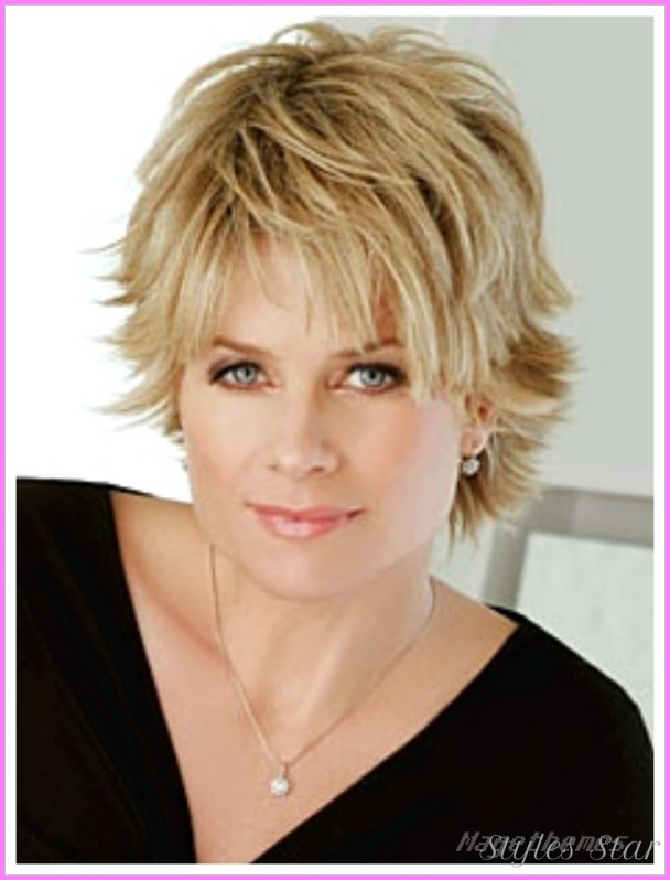 Short haircuts for women with round faces over -   Very short haircuts for women with round faces