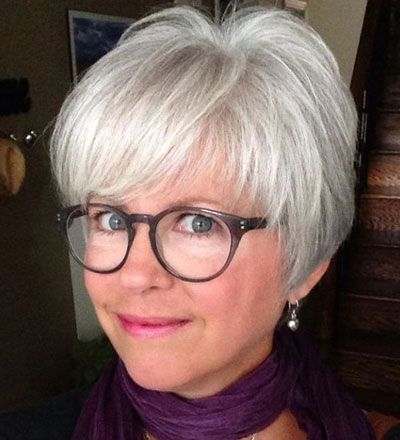 50 Best Hairstyles for Thin Hair Over 50 (Stylish Older Women Photos) -   Fine Hair Style Short Hair Cuts for Women Over 50