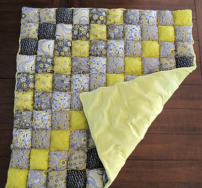 How to make a Puff Quilt.