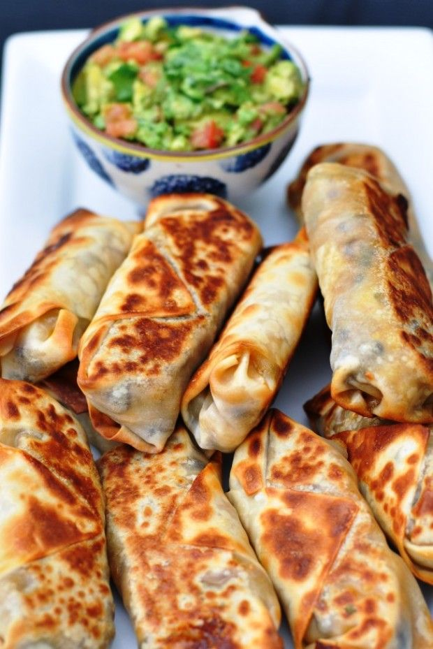 Healthy and Tasty Kids Dinner Recipes Baked Southwestern Eggrolls