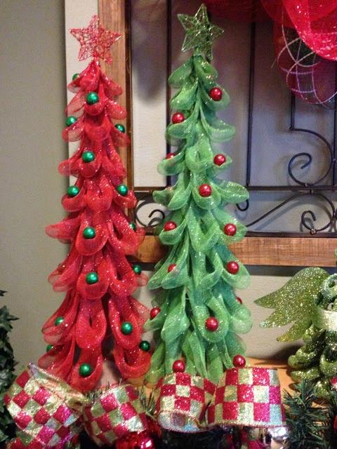 Mesh #Christmas Trees