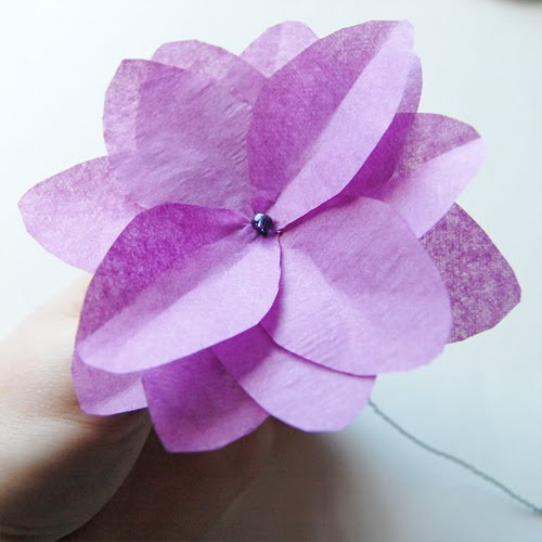 Paper flower tutorials how do it info paper flower tutorials mightylinksfo