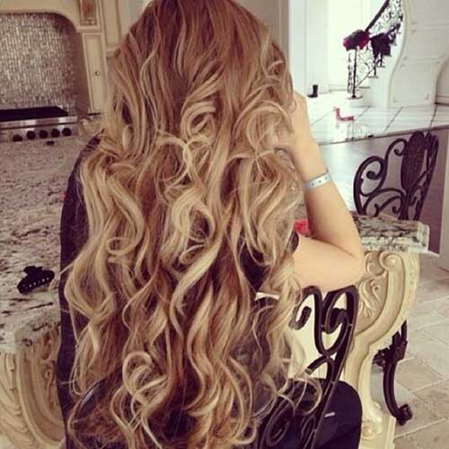 Blonde Curly Hair Dye On Dark Brown Hair