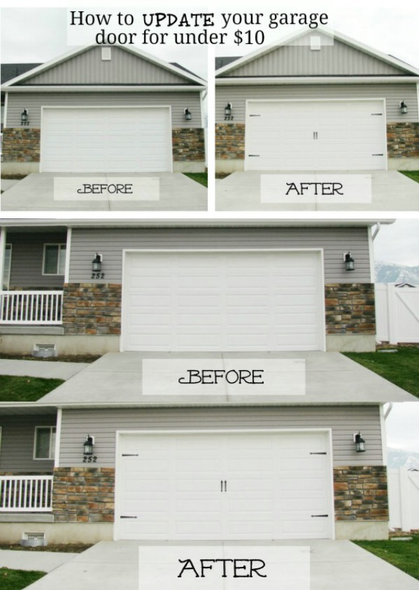 Update Your Garage Doors -   Brilliant Garage Organization ideas that will make life easier. Great ideas, tips, tutorials for insanely easy garage