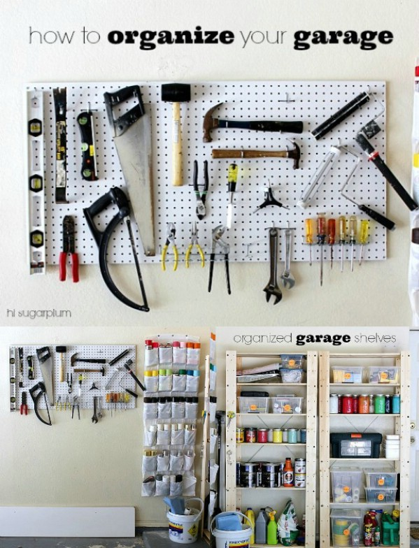 Organize Paint and So Much More - 49 Brilliant Garage Organization Tips, Ideas and DIY Projects