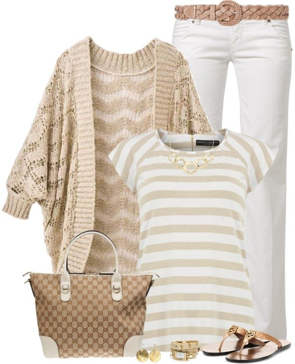 casual everyday polyvore spring outfit