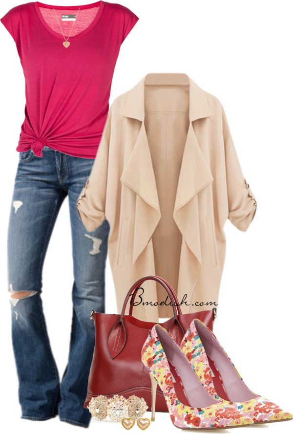 casual polyvore outfit 2