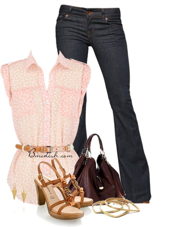 casual weekend outfit idea polyvore