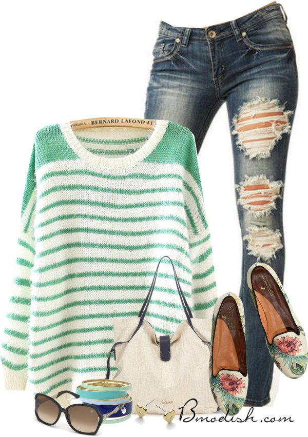 casual weekend polyvore outfit