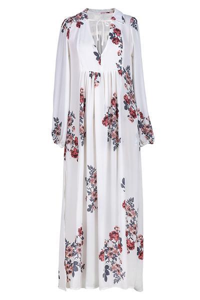 Cupshe Fully Grown Chiffon Casual Long Dress -   Casual long dress from Cupshe