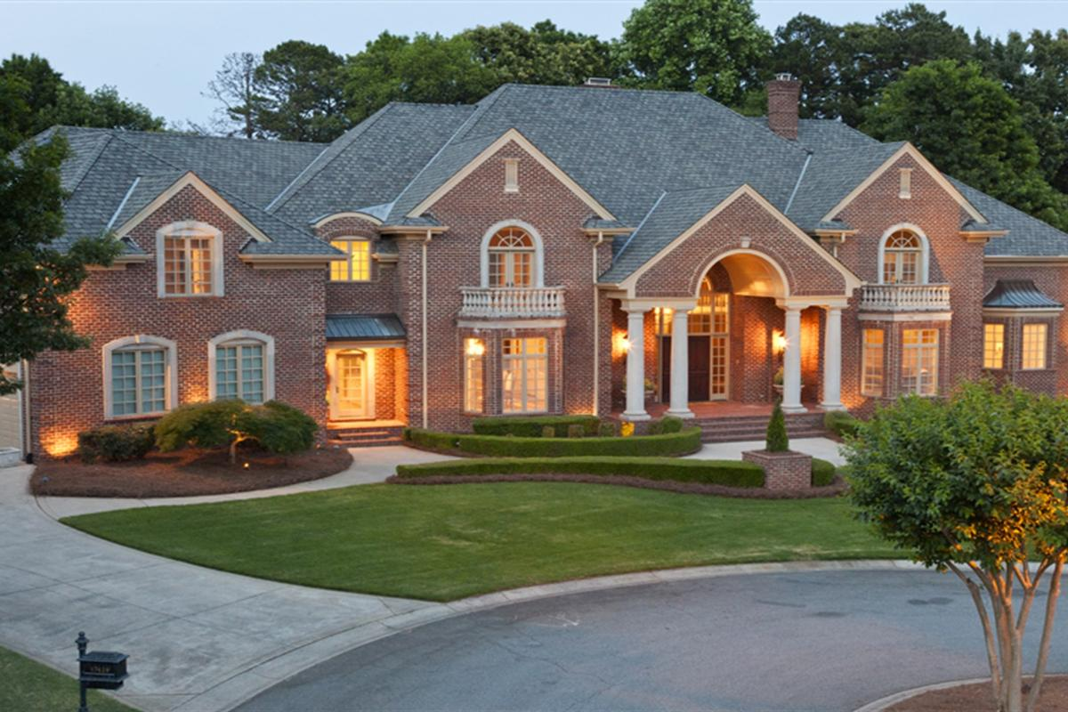 Luxury homes exterior ideas how do it info for Custom home builders fayetteville nc