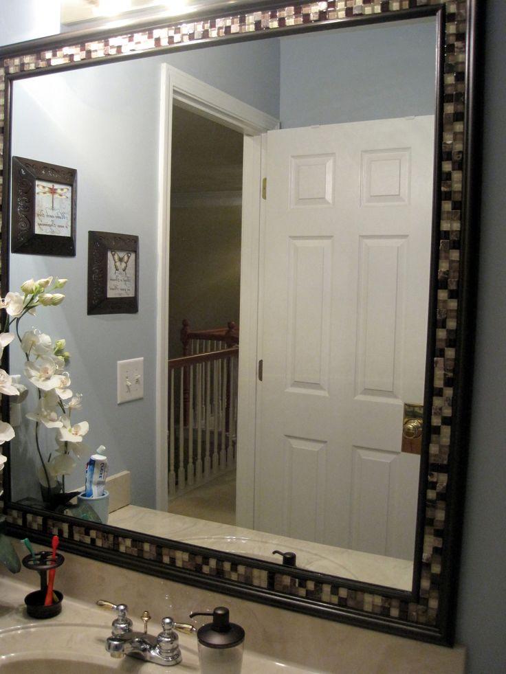 diy mirror -   Great DIY Mirror frame ideas