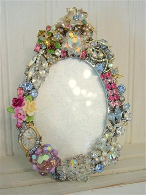 awesome mirror picture frame diy beautiful diy mirror picture frame ... -   Great DIY Mirror frame ideas