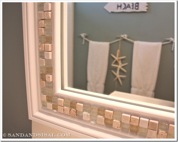 30 Amazing DIY Decorative Mirrors - Pretty Handy Girl -   Great DIY Mirror frame ideas