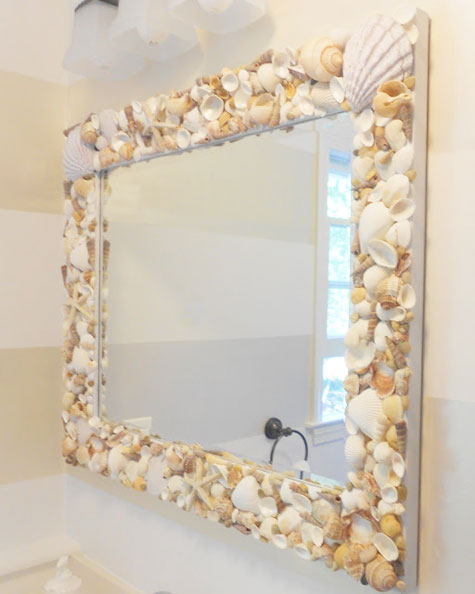 Mirror Frame Diy Ideas diy mirror frames ideas to do at home -   Great DIY Mirror frame ideas