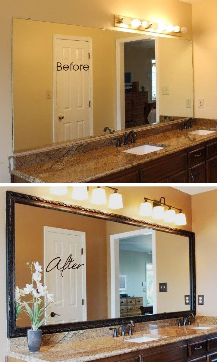 Great DIY Mirror frame ideas