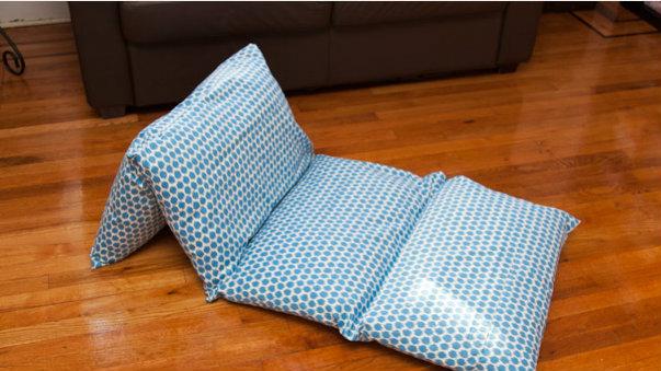 TOOLS & MATERIALS: -   Diy Pillow Lounger