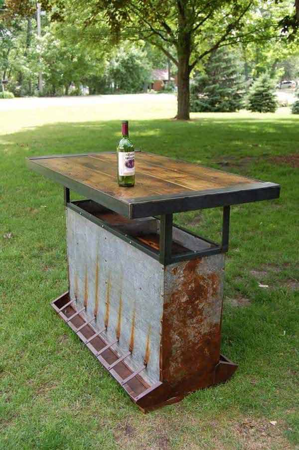 Top 20 Crazy Ideas to Repurpose Chicken Feeders -   Chicken Feeders Ideas