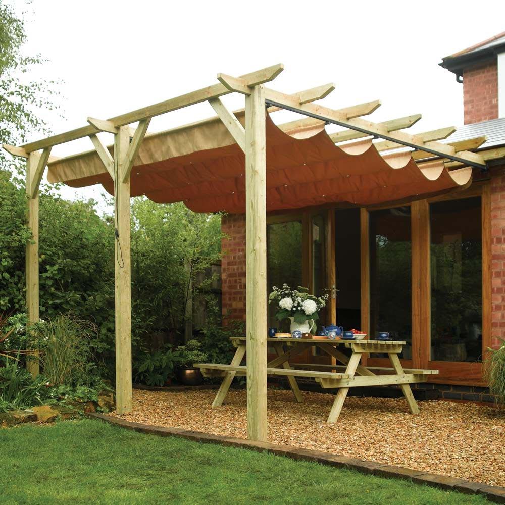 DIY Pergola Roof Design Ideas