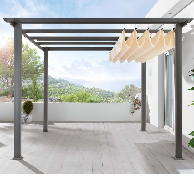 DIY Pergola Roof Design Ideas