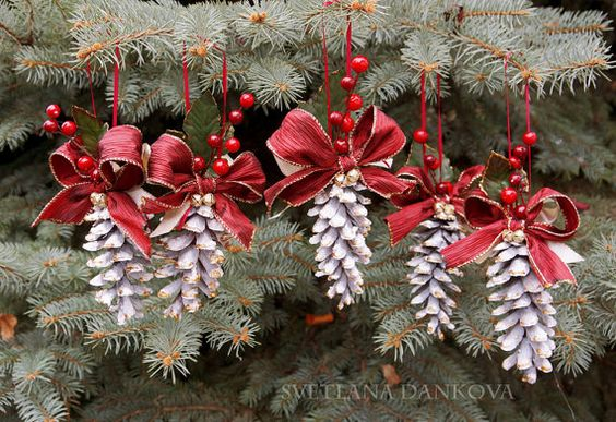 Pine Cone Christmas Ornament -   Pine Cone Christmas Ornament Ideas