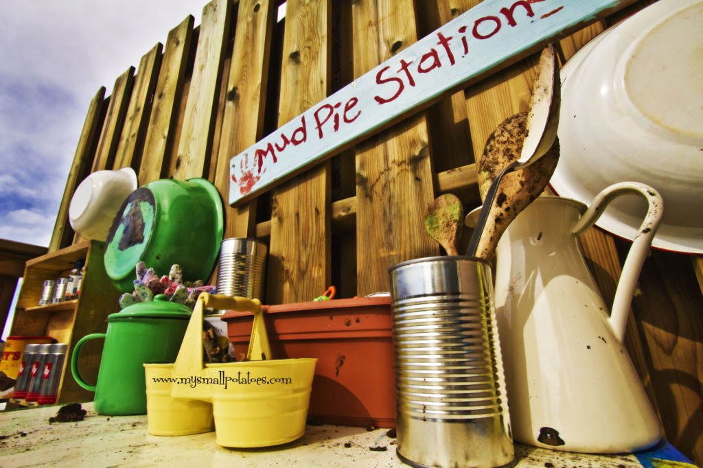 2. Mudpie Station -   25 Outdoor Play Areas For Kids Transforming Regular Backyards Into Playtime Paradises