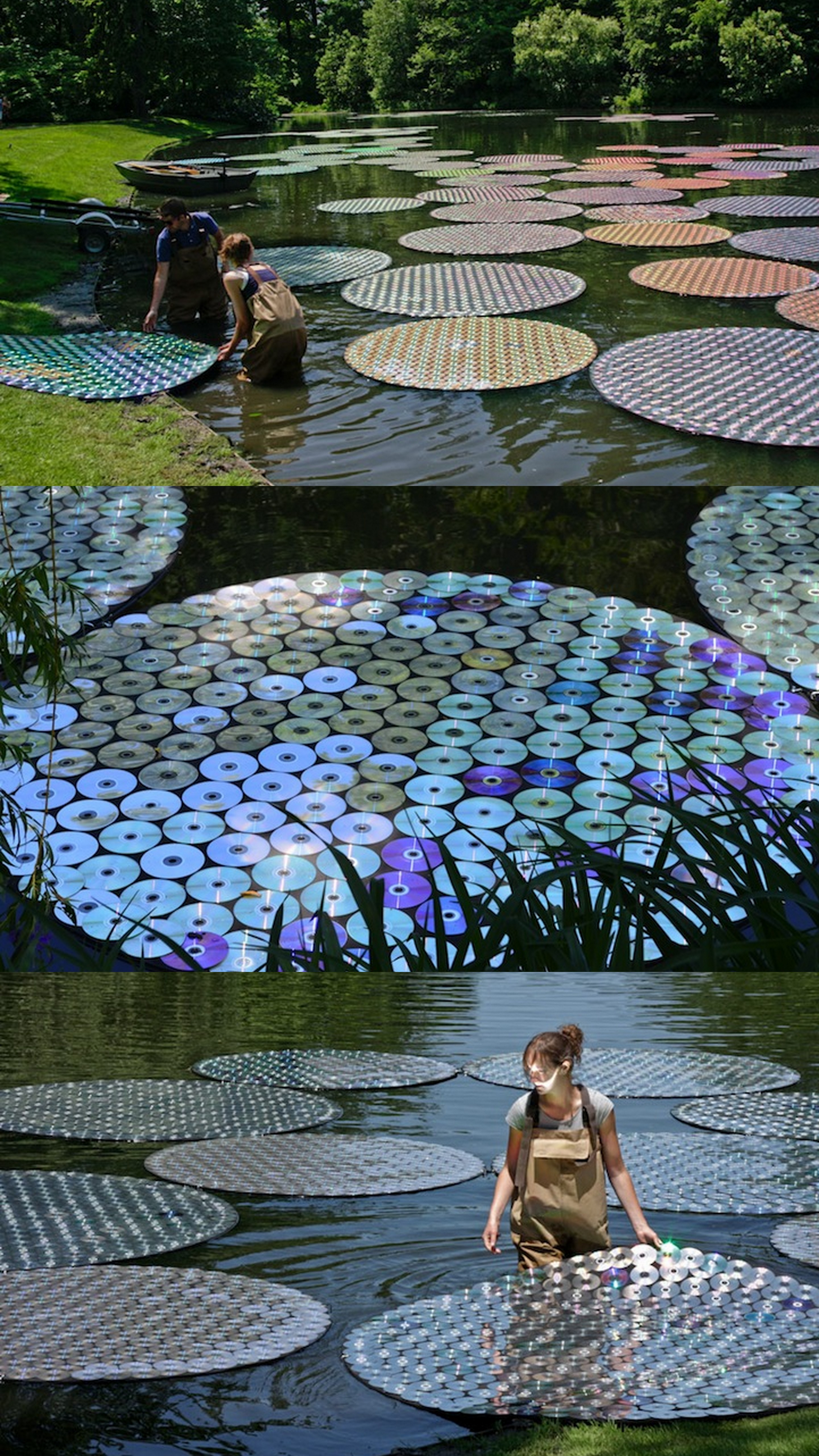 Awesome Way To Use Recycled CDs
