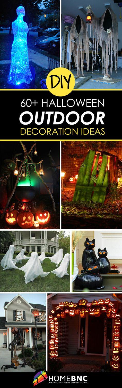 Outdoor Halloween Decor Ideas