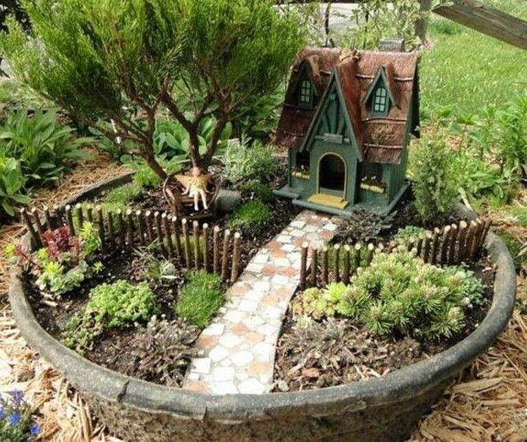 45+ Creative DIY Project Fairy Garden on a Budget -   Awesome miniature fairy garden ideas