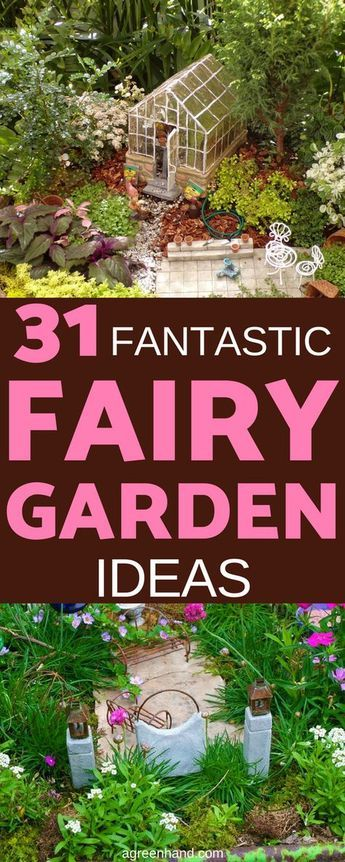 31 Fantastic Fairy Garden Ideas Your Kids Will Love -   Awesome miniature fairy garden ideas