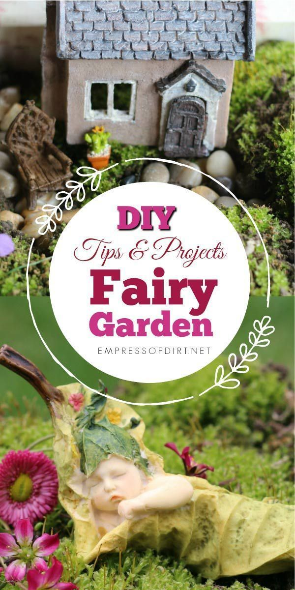 Fairy Garden Projects to Enchant the Wee Folk -   Awesome miniature fairy garden ideas