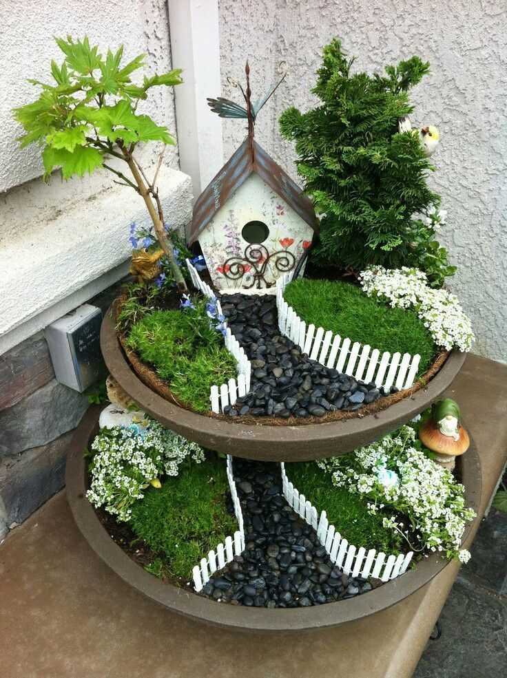 Amazing Fairy Garden Ideas One Should Know -   Awesome miniature fairy garden ideas
