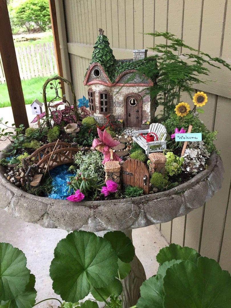 47 Best Fairy Garden Ideas -   Awesome miniature fairy garden ideas