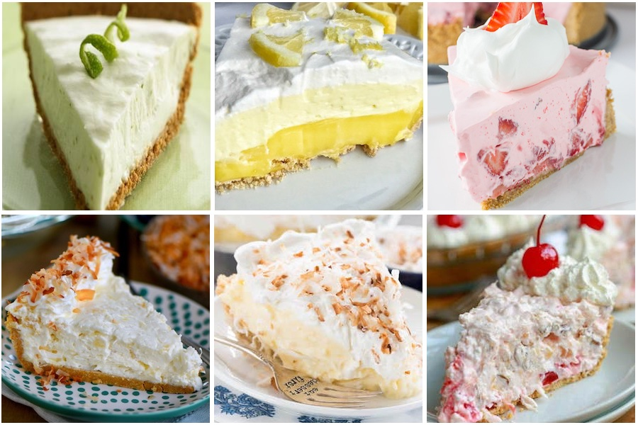 Pies -   200 Cheap and Easy No Bake Desserts