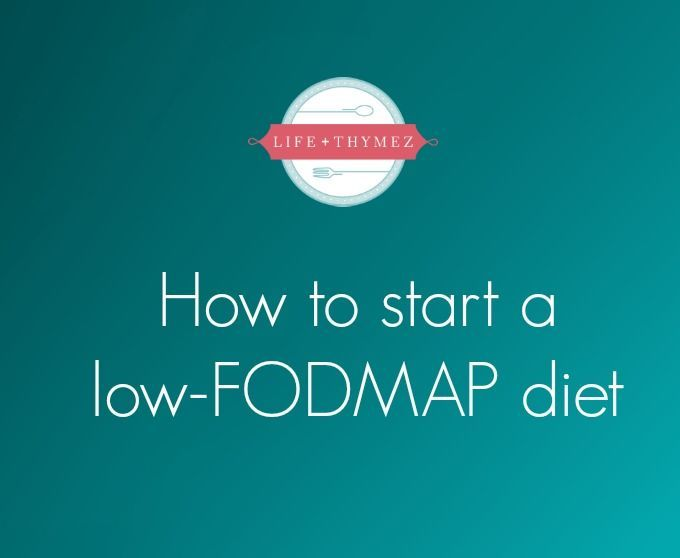 7-Day Low FODMAP Diet Meal Plan & Menu -   24 ibs diet plan ideas