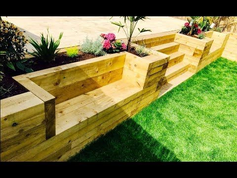 How To Build An Affordable Retaining Wall | Gardening | Great Home Ideas - YouTube -   22 garden steps retaining wall ideas