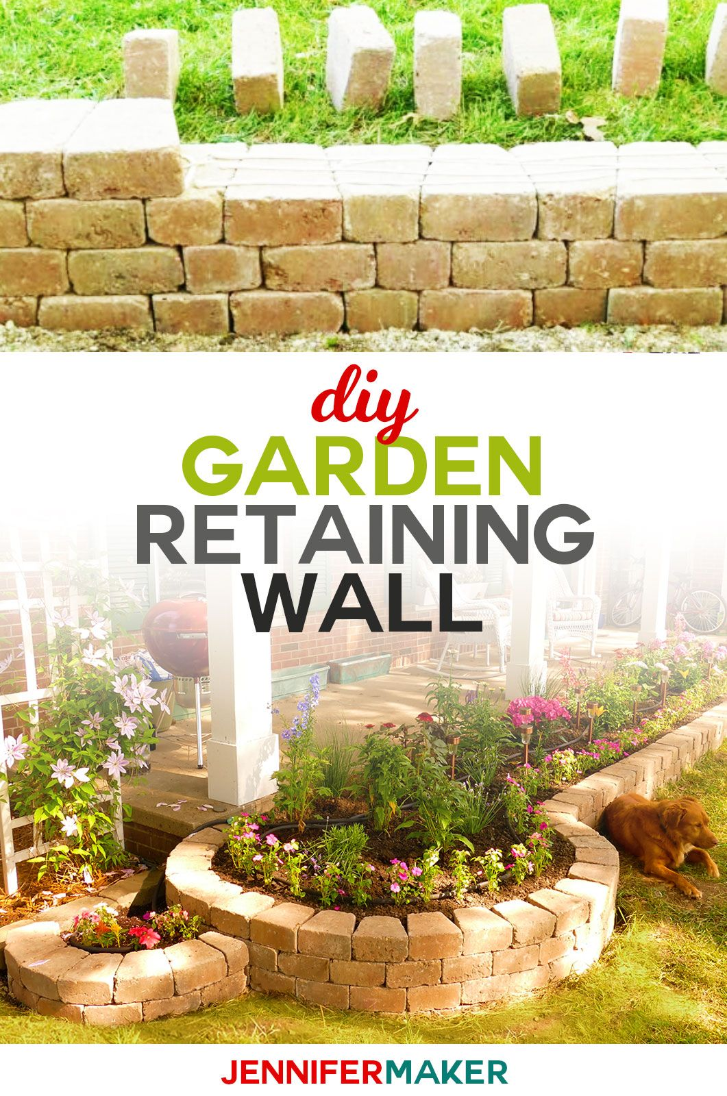 22 garden steps retaining wall ideas
