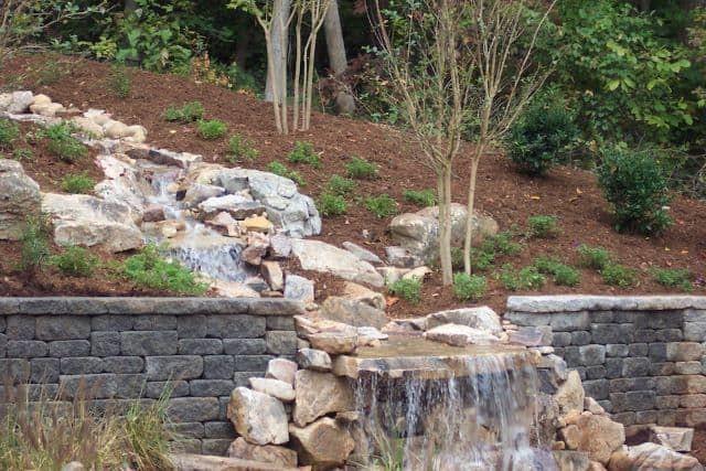 95 Stunning Retaining Wall Ideas -   22 garden steps retaining wall ideas